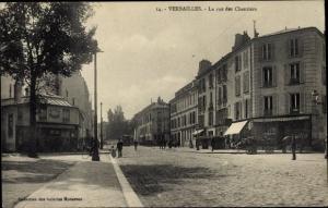 Ak Versailles Yvelines, Rue des Chantiers