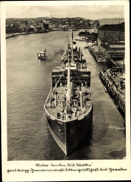 Ak Motortankschiff W. B. Walker
