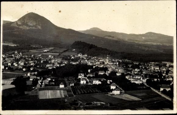 Foto Ak Nový Bor Haida Reg. Reichenberg, Panorama