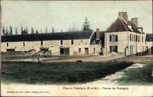 Ak Chevry Cossigny Seine et Marne, Ferme de Cossigny