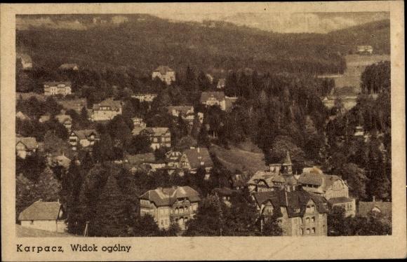 Ak Karpacz Krummhübel Riesengebirge Schlesien, Totale