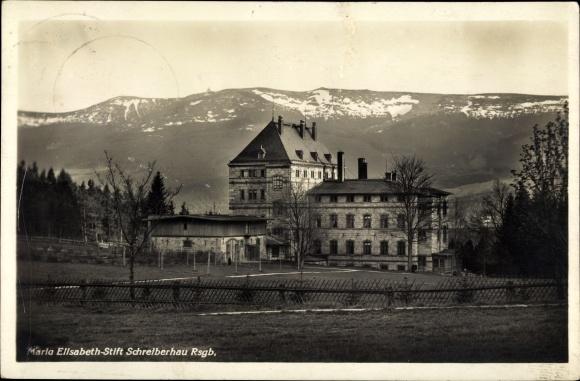 Ak Szklarska Poręba Schreiberhau Riesengebirge Schlesien, Maria Elisabeth Stift