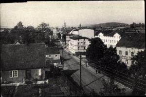 Ak Dzietrzychów Dittersbach Wałbrzych Waldenburg Schlesien, Hauptstraße