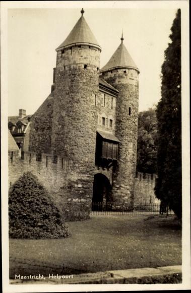Ak Maastricht Limburg Niederlande, Helpoort