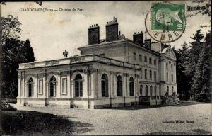 Ak Grandcamp Eure, Chateau du Parc