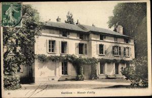 Ak Gaillon Eure, Manoir d'Ailly