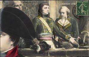 Puzzle Ak Conseil d'Etat, Napoleon Bonaparte