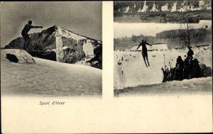 Ak Sport d'hiver, Skispringer