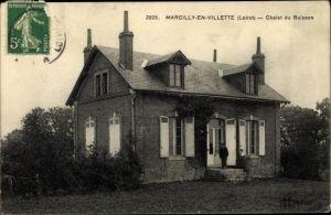 Ak Marcilly en Villette Loiret, Chalet du Buisson