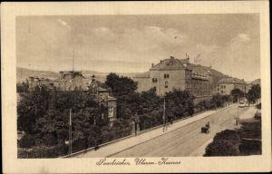 Ak Saarbrücken im Saarland, Ulanen Kaserne