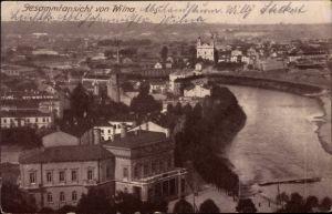 Ak Vilnius Wilna Litauen, Gesamtansicht
