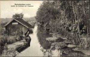 Ak Malesherbes Loiret, Lavoir de Buthiers sur l'Essonne