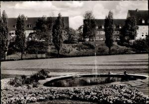 Ak Herford in Nordrhein Westfalen, Entenbrunnen