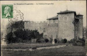 Ak Le Chambon Feugerolles Loire, Chateau Feugerolles