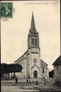 Ak Les Montils Loir-et-Cher, L'Eglise