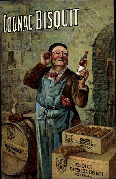 Künstler Ak Cognac Bisquit, Dubouché & Co.