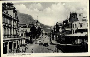 Ak Cape Town Kapstadt Südafrika, Adderley Street