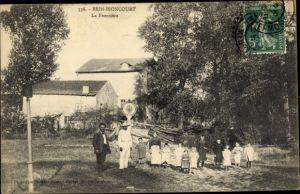 Ak Brin Bioncourt Lothringen Meurthe et Moselle, Frontiere Franco Allemande
