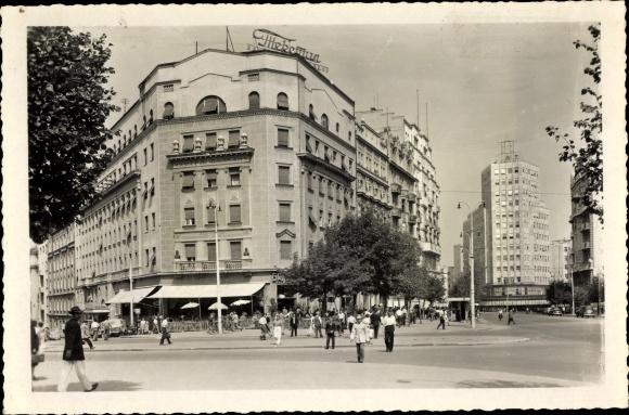 Ak Belgrad Beograd Serbien, Hotel Balkan