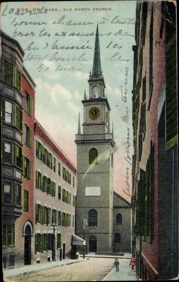 Ak Boston Massachusetts USA, Old North Church