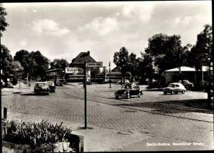 Ak Berlin Neukölln Rudow, Neuköllner Straße Ecke Neudecker Weg