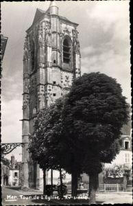 Ak Mer Loir et Cher, Tour de l'Église