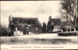 Ak Villefermoy Seine et Marne, Ancienne Chapelle des Moines