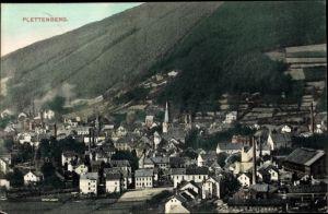 Ak Plettenberg im Märkischen Kreis, Blick auf den Ort