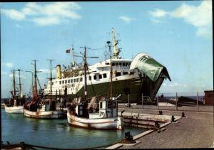 Ak Bagenkop, MF Langeland, Langeland Kiel Linien, Fährschiff