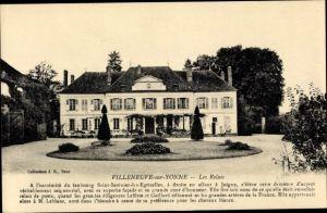 Ak Villeneuve sur Yonne, Les Relais, Faubourg Saint Savinien les Egriselles