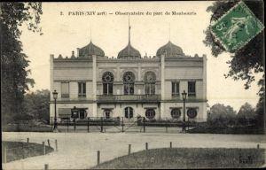 Ak Paris XIV., Observatoire du Parc de Montsouris