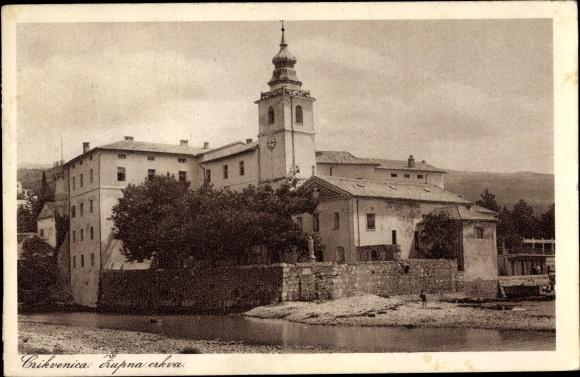 Ak Crikvenica Kroatien, Zupna crkva