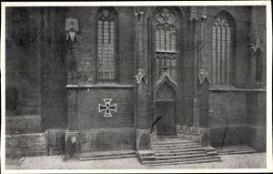 Ak Jena in Thüringen, Das Eiserne Kreuz, Nagelung