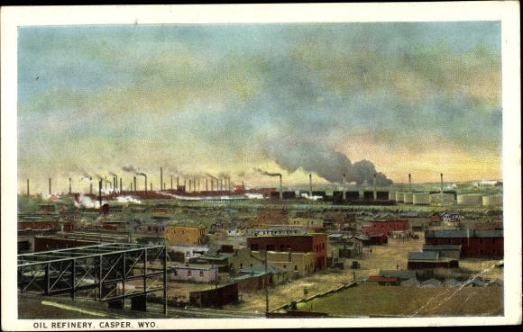 Ak Casper Wyoming USA, Oil Refinery