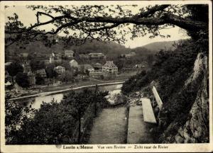 Ak Lustin Wallonien Namur Belgien, Vue vers Riviere