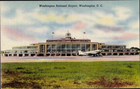 Ak Washington DC USA, Washington National Airport