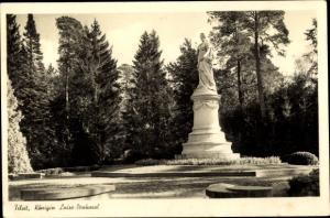 Ak Sowjetsk Tilsit Ostpreußen, Königin Luise Denkmal