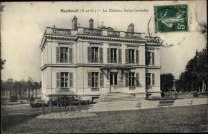 Ak Septeuil Yvelines, Le Chateau Saint Corentin