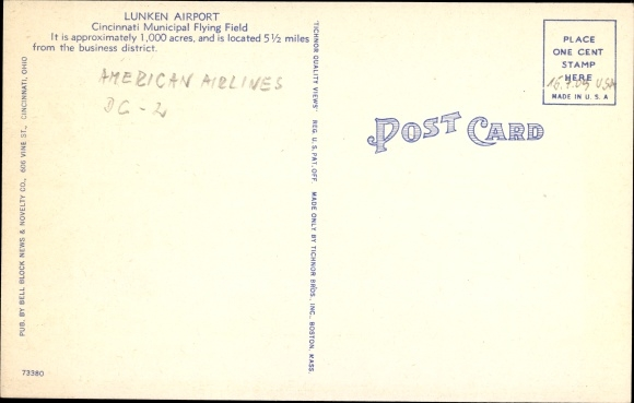 Ak Cincinnati Ohio USA, Lunken Airport, American Airlines Flagship Cincinnati, DC 2 1