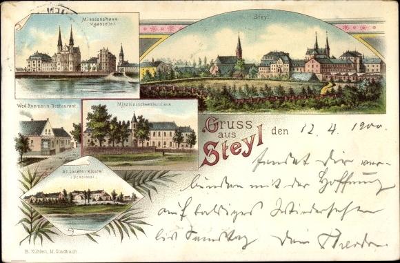 Litho Steyl Venlo Limburg Niederlande, Missionshaus, Missionsschwesternhaus