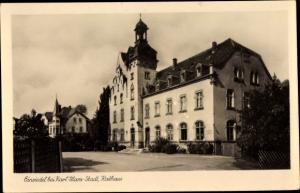 Ak Einsiedel Chemnitz in Sachsen, Rathaus
