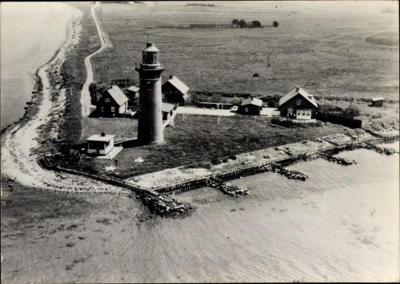 Ak Omo Dänemark, Fyr, Leuchtturm