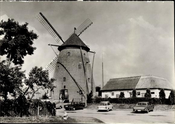 Ak Kiskunfelegyhaza Ungarn, Windmühle an der E5/UVR