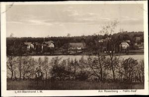 Ak Alt-Buchhorst Grünheide in der Mark, Am Rosenberg, Peetz See