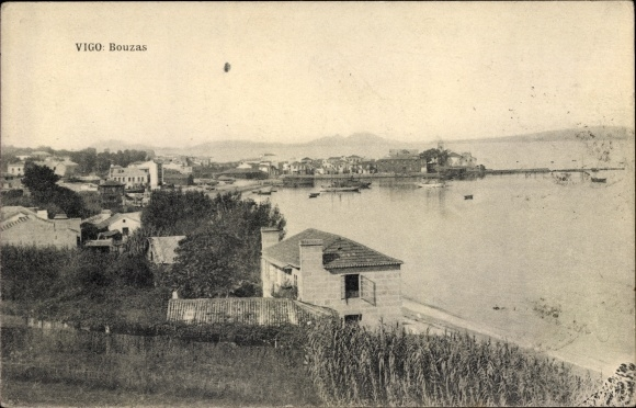 Ak Vigo Galicien Spanien, Bouzas