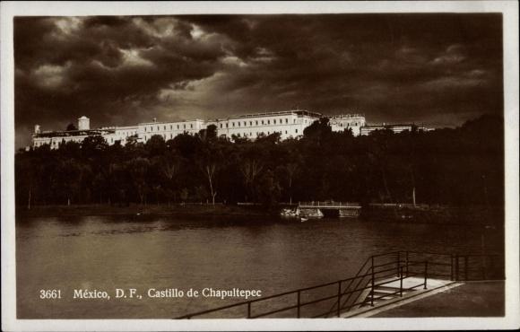Ak Mexiko, D. F., Castillo de Chapultepec