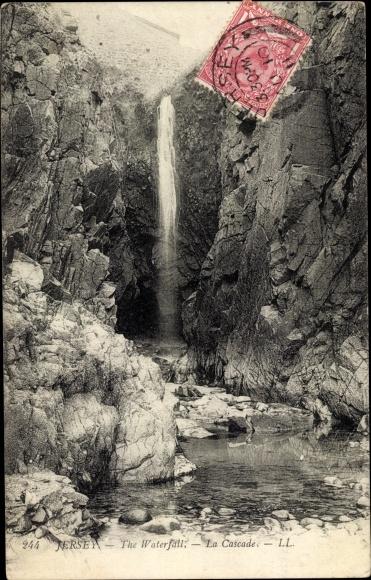 Ak Jersey Kanalinseln, The Waterfall, Wasserfall