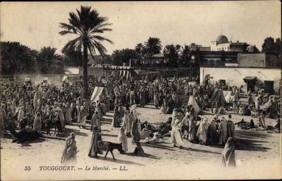 Ak Touggourt Algerien, Le Marché 0