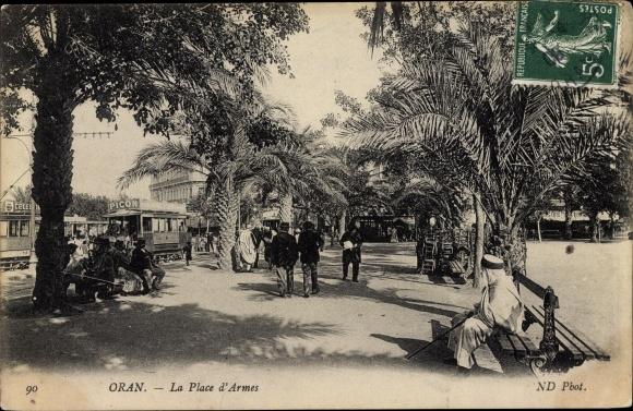 Ak Oran Algerien, La Place d'Armes 0