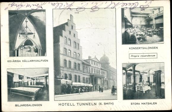 Ak  Helsingør Helsingör Dänemark, Hotell Tunneln